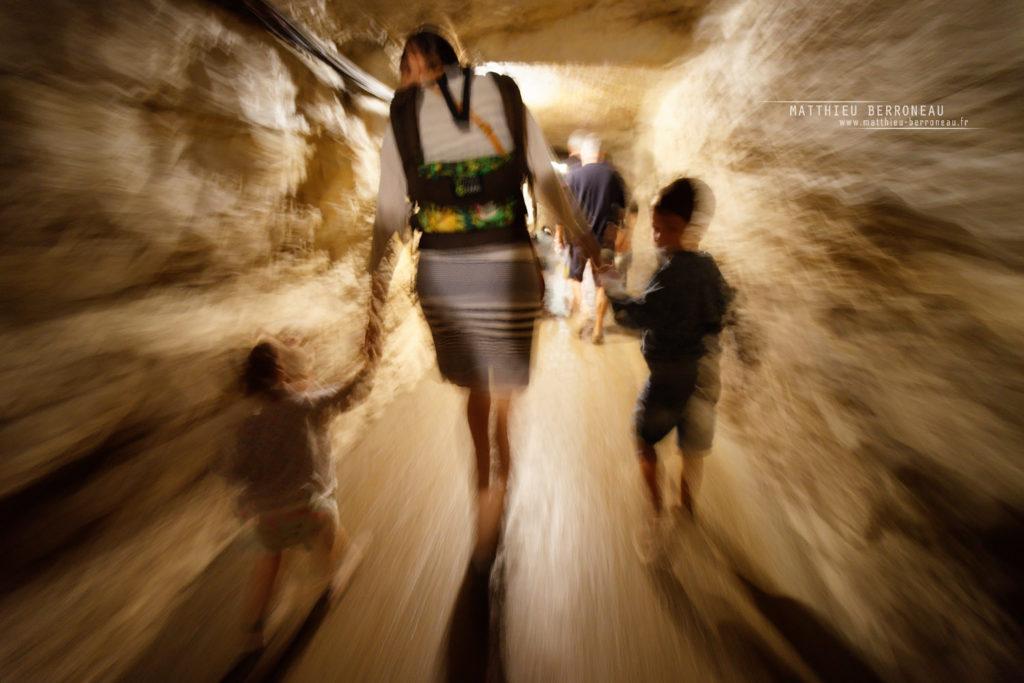 Photo de grotte au Samyang FE 14 2.8 AF