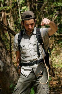 Matthieu Berroneau serpent Costa Rica