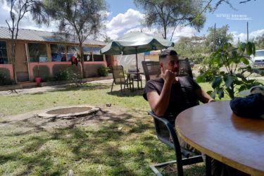 C'est l'heure de la bière kenyanne - Time for a beer